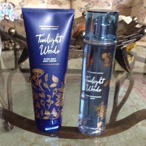 Bath & Body Works Twilight Woods Duo NWT